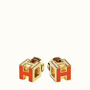 Cage d'H earrings