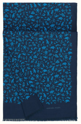 fed0ef33207a Carré pour Homme et accessoires en soie - Hermès