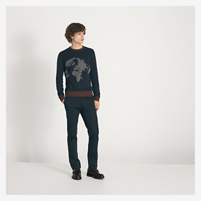 """Monde Hermes"" round-neck sweater -"