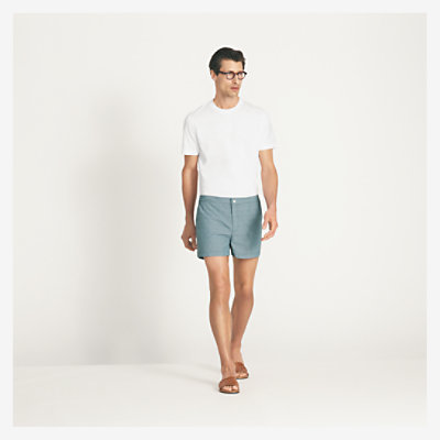 Canevas swim shorts -