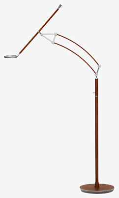 Pantographe universal reading floor lamp with Pantographe universal LED ring -