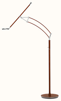 Pantographe universal reading floor lamp with Pantographe universal LED ring