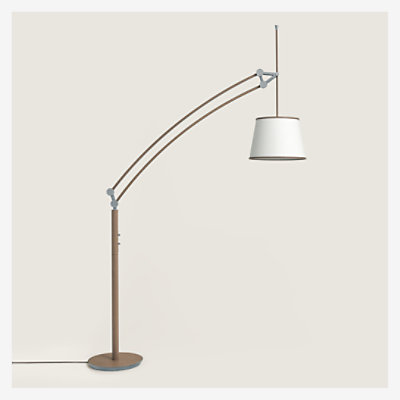 Pantographe arc floor lamp -