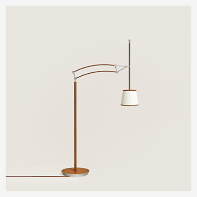 Pantographe reading floor lamp -