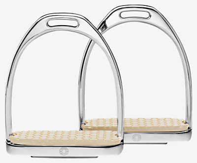 Pair of Clou de Selle stirrups 135 -