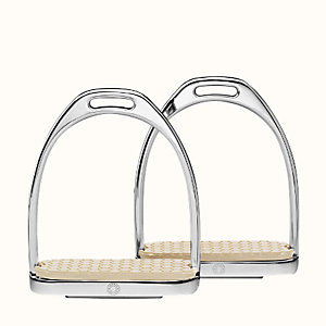 Pair of Clou de Selle stirrups