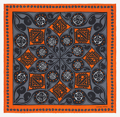 Namaste pocket square 45 -