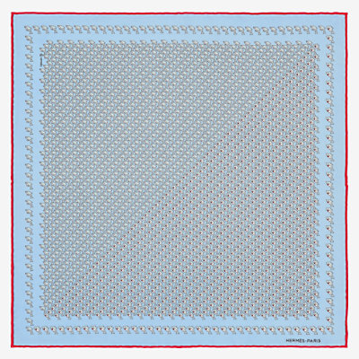 Cache-Cache Aquatique pocket square 45 -