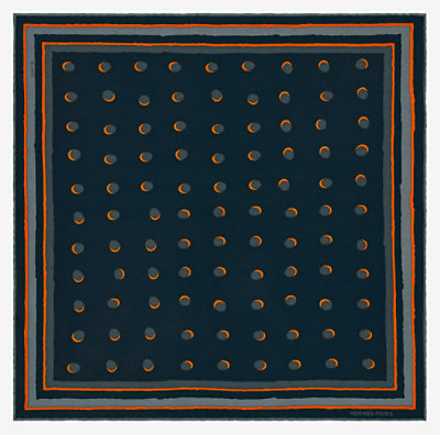 Eclipse pocket square 45 -