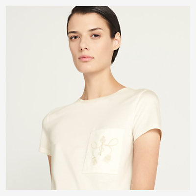 Embroidered t-shirt -