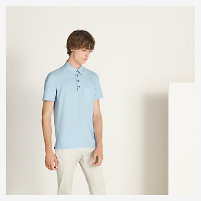 Polo shirt with pocket -