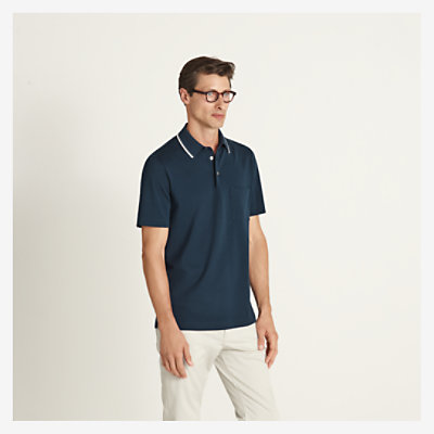 """Surpiqûre Sellier"" polo shirt -"