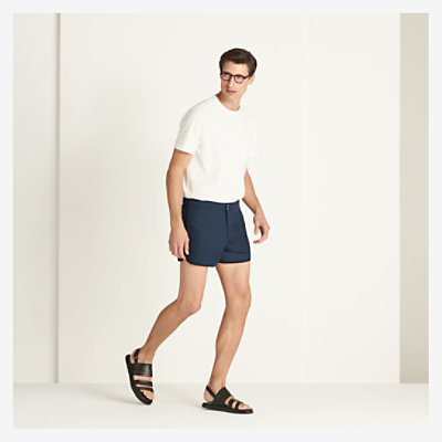 Bicolored shorts -