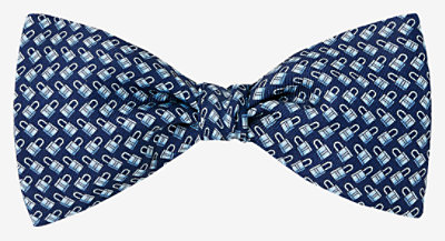 Locks of Love bow tie -