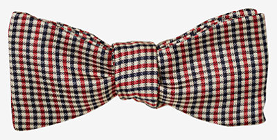 I Love Mother bow tie -