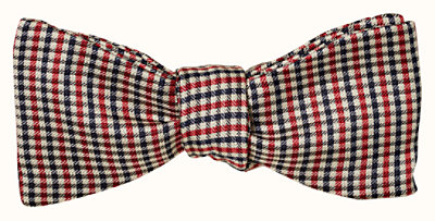 I Love Mother bow tie