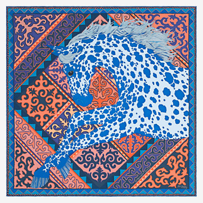 Appaloosa des Steppes pocket square 45 -
