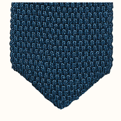 Tricot de Soie double point tie