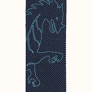 Cravatta Tricot de soie ricamata Dragon Flash