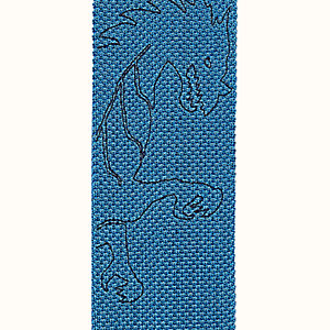 Tricot de Soie Dragon Flash embroidered tie