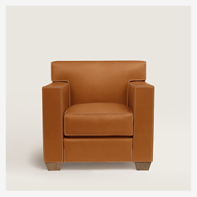 Reeditions J.-M. Frank par Hermes Comfortable club armchair -
