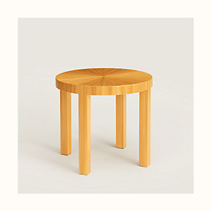 Reeditions J.-M. Frank par Hermes round coffee table