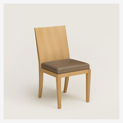 Reeditions J.-M. Frank par Hermes padded chair -