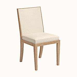Reeditions J.-M. Frank par Hermes padded chair