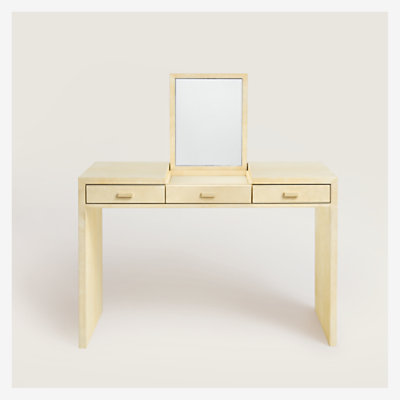 Reeditions J.-M. Frank par Hermes 3-drawer dressing table -