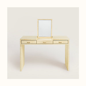 Reeditions J.-M. Frank par Hermes 3-drawer dressing table
