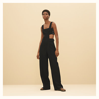 Jumpsuit with loop detail