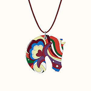 Tatersale Faubourg Rainbow pendant, large model