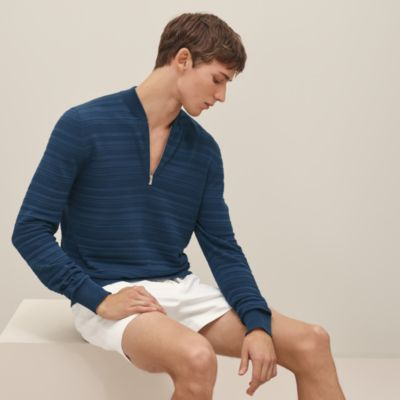 """Relief Ottoman"" zipped sweater"