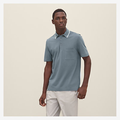 Polo with pocket -