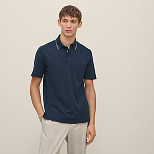 Polo with pocket