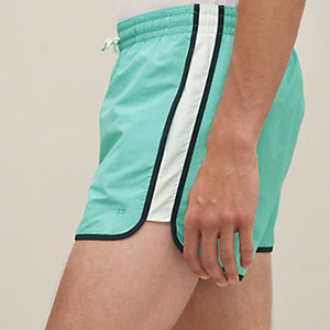 Bicolor swim trunks