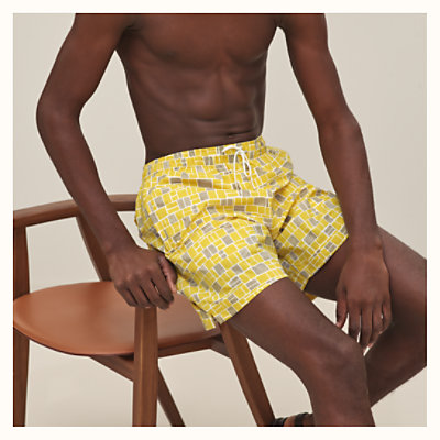 """Mosaique H"" swim trunks"