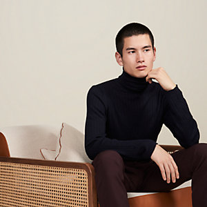 """Cotes Plates"" turtleneck sweater"