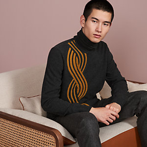 """Maxi Torsade"" turtleneck sweater"