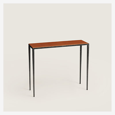 Reeditions J.-M. Frank par Hermes wrought iron console -