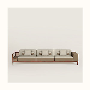 Sofa Sellier 3 places