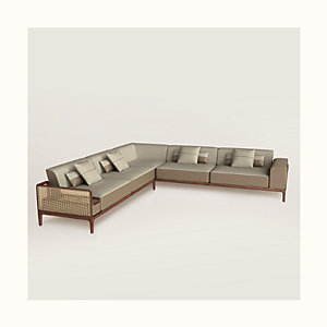 Sofa Sellier d'angle 5 places