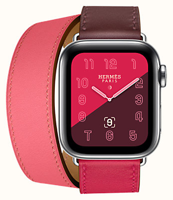 Apple Watch Hermès Series 4 Double Tour 40 mm.