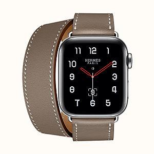 f6457e0996f Apple Watch Hermès Series 4 Double Tour Long 40 mm