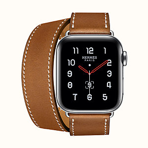 Boîtier Series 5 & Bracelet Apple Watch Hermès Double Tour 40 mm