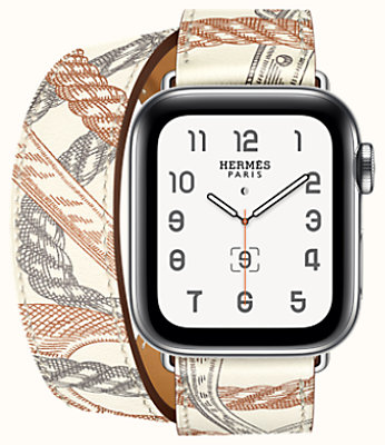 Series 5 case & Band Apple Watch Hermès Double Tour 40 mm