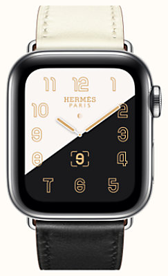 Caja Series 5 y correa Apple Watch Hermès Single Tour 40 mm