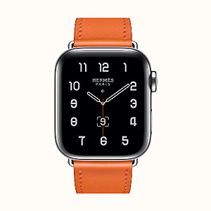 Cassa Series 5 e cinturino Apple Watch Hermès Simple Tour 40 mm