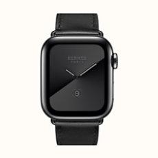 Apple Watch Hermès Series 5 Simple Tour 40mm Noir Sidéral