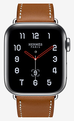 Apple Watch Hermès Series 4 Single Tour 40 mm - 1ST40WWFAUVE_KIT-H0140001v00-H077050CJ34